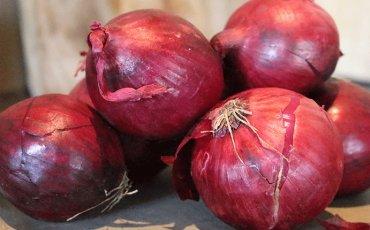Rode uien (1 kg)